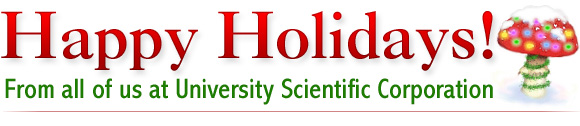 Happy Holidays from University Scientific!