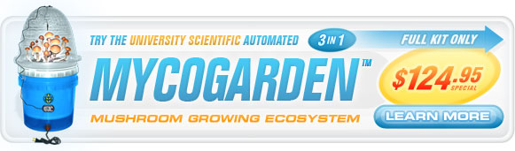 MycoGarden Special Offer!