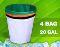 Click here for more information on Bubble Extractor Bags - 4 Bag / 20 Gallon Kit