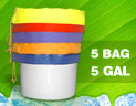 Click here for more information on Bubble Extractor Bags - 5 Bag / 5 Gallon Kit